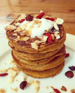 Carrot Cake Protein Pancake
